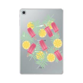 アイスバー&レモン Samsung Galaxy Tab S5e TPU クリアケース