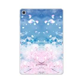 桜の花びら Samsung Galaxy Tab S5e TPU クリアケース