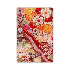 和・花柄 Samsung Galaxy Tab S5e TPU クリアケース