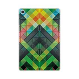 抽象的なモザイクパターン Samsung Galaxy Tab S5e TPU クリアケース