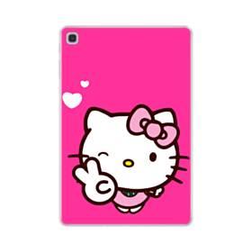 永遠に可愛い!キティちゃん Samsung Galaxy Tab S5e TPU クリアケース