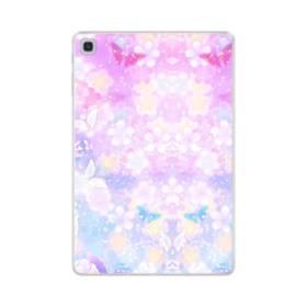 爛漫・抽象的な桜の花 Samsung Galaxy Tab S5e TPU クリアケース