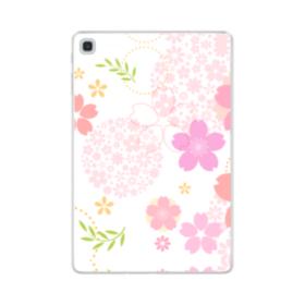 桜の形・いろいろ Samsung Galaxy Tab S5e TPU クリアケース