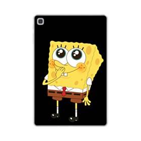 可愛いスポンジボブ Samsung Galaxy Tab S5e TPU クリアケース