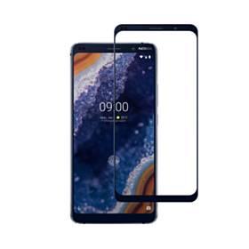 [2ピース]Nokia 9 PureViewフルカバー強化ガラススクリーンプロテクター