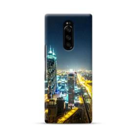 ザ・シティー夜景01 Sony Xperia 1 ポリカーボネート ハードケース