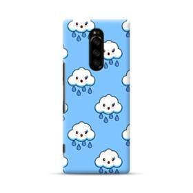 雨雲キャラクター Sony Xperia 1 ポリカーボネート ハードケース