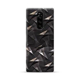 貴金属の幾何図 Sony Xperia 1 ポリカーボネート ハードケース