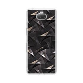 貴金属の幾何図 Sony Xperia 10 Plus TPU クリアケース