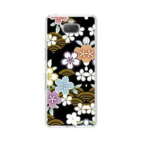 和風・桜&浪 Sony Xperia 10 Plus TPU クリアケース