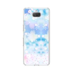 爛漫桜の花 Sony Xperia 10 Plus TPU クリアケース