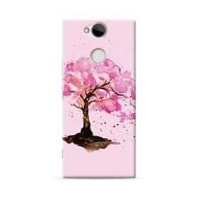 水彩画・桜の木 Sony Xperia XA2 ポリカーボネート ハードケース