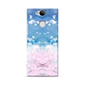 桜の花びら Sony Xperia XA2 ポリカーボネート ハードケース