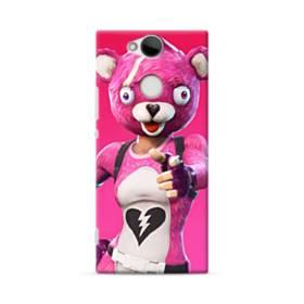 Hi  ! フォートナイト  可愛いピンクのクマ Sony Xperia XA2 ポリカーボネート ハードケース