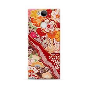 和・花柄 Sony Xperia XA2 ポリカーボネート ハードケース
