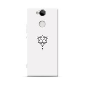 デザイン アートな三角003 Sony Xperia XA2 ポリカーボネート ハードケース