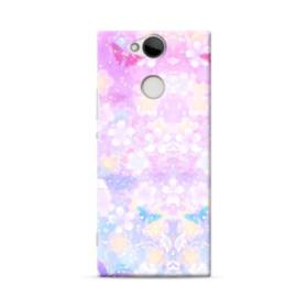 爛漫・抽象的な桜の花 Sony Xperia XA2 ポリカーボネート ハードケース