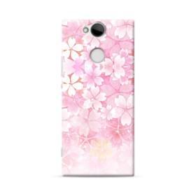 爛漫・ピンク&桜色 Sony Xperia XA2 ポリカーボネート ハードケース