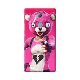 Hi  ! フォートナイト  可愛いピンクのクマ Sony Xperia XA2 Ultra ポリカーボネート ハードケース