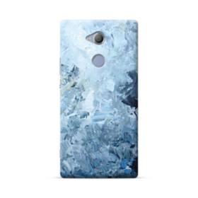 イケメン模様・水色のアート Sony Xperia XA2 Ultra ポリカーボネート ハードケース
