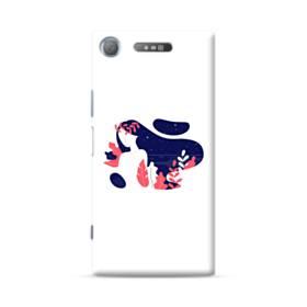 デザイン アート・女の子 Sony Xperia XZ1 ポリカーボネート ハードケース