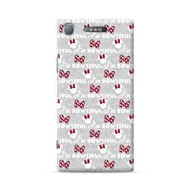 リボン モチーフ ribbon motif  Sony Xperia XZ1 ポリカーボネート ハードケース