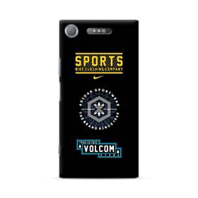 デザイン・マーク002 Sony Xperia XZ1 ポリカーボネート ハードケース