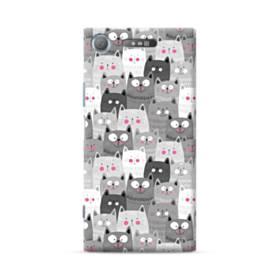 多くの子猫 Sony Xperia XZ1 ポリカーボネート ハードケース