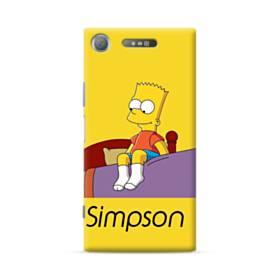 思い出のバート・シンプソンちゃん  Sony Xperia XZ1 ポリカーボネート ハードケース