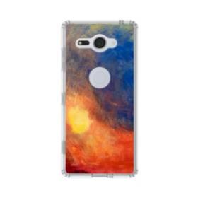 モネのマネ・色のアート創作 Sony Xperia XZ2 Compact TPU クリアケース