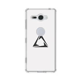 デザイン アートな三角002 Sony Xperia XZ2 Compact TPU クリアケース