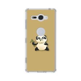 モグモグ・パンダ Sony Xperia XZ2 Compact TPU クリアケース