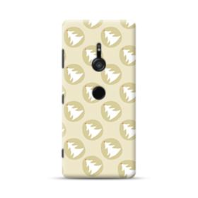 デザイン クリスマス ツリー パターン Sony Xperia XZ3 ポリカーボネート ハードケース
