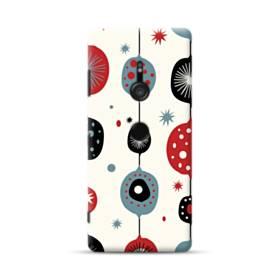 クリスマス アートなデコレーション Sony Xperia XZ3 ポリカーボネート ハードケース