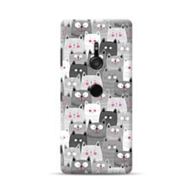 多くの子猫 Sony Xperia XZ3 ポリカーボネート ハードケース