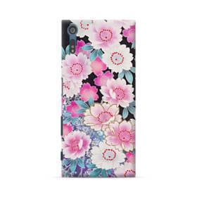 和の花柄 Sony Xperia XZ ポリカーボネート ハードケース