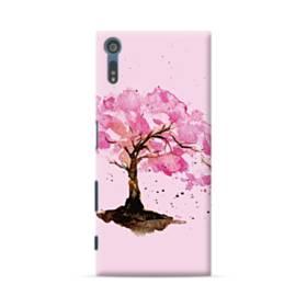 水彩画・桜の木 Sony Xperia XZ ポリカーボネート ハードケース