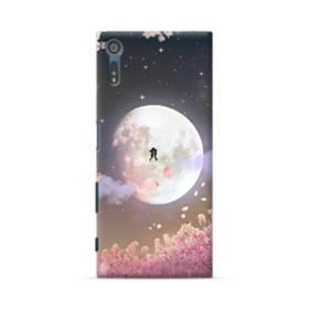 爛漫・夜桜&私たち Sony Xperia XZ ポリカーボネート ハードケース