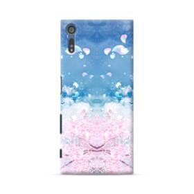 桜の花びら Sony Xperia XZ ポリカーボネート ハードケース