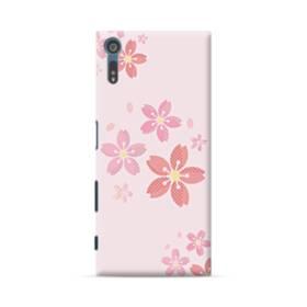 春・桜の花001 Sony Xperia XZ ポリカーボネート ハードケース
