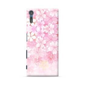 爛漫・ピンク&桜色 Sony Xperia XZ ポリカーボネート ハードケース