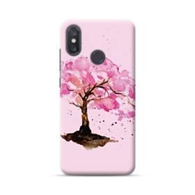 水彩画・桜の木 Xiaomi Mi 8 ポリカーボネート ハードケース