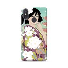ザ・桜&ジャパンガール! Xiaomi Mi 8 ポリカーボネート ハードケース