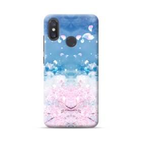 桜の花びら Xiaomi Mi 8 ポリカーボネート ハードケース