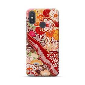 和・花柄 Xiaomi Mi 8 ポリカーボネート ハードケース