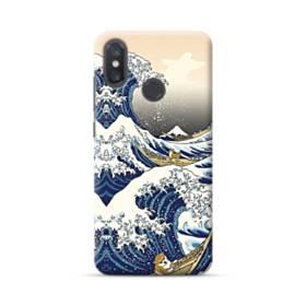 和柄:柴犬in浮世絵 Xiaomi Mi 8 ポリカーボネート ハードケース