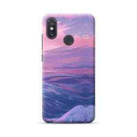 抽象的・富士山&海 Xiaomi Mi 8 ポリカーボネート ハードケース