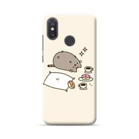 ぽっちゃり猫 Xiaomi Mi 8 ポリカーボネート ハードケース