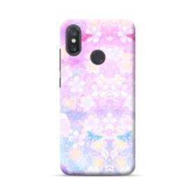 爛漫・抽象的な桜の花 Xiaomi Mi 8 ポリカーボネート ハードケース