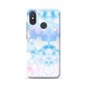 爛漫桜の花 Xiaomi Mi 8 ポリカーボネート ハードケース